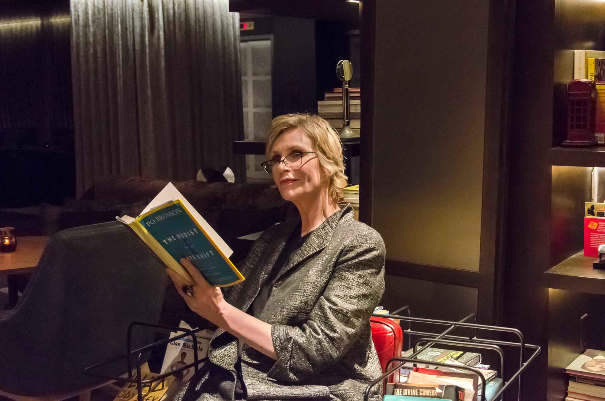 Jane Lynch Reads