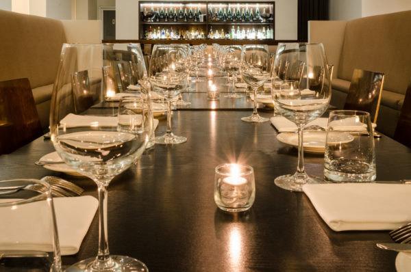 Blackbird Restaurant Private Dining Room