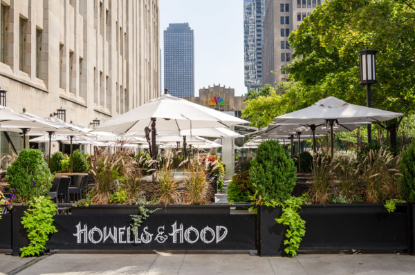 Howells & Hood Restaurant Patio