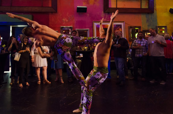The Actors Gymnasium Cirque du Flambe Event